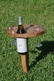 outdoor wine glass holder table bamboo wine table wine table wine glass holder and dining