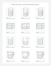 read the volume in these containers in liters by analyzing the