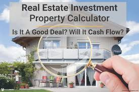 Real Estate Investment Partnership Business Plan Template by Real Estate Calculator For Analyzing Investment Property