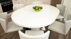 trends expandable round dining table