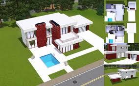 Sims 3 Modern House Floor Plans | unique sims 3 modern house floor plans new home plans design