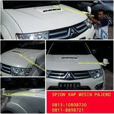 All New Pajero Sport List Kap Mobil Depan Molding Chrome jual spion kap mesin mitsubishi pajero sport kresna car accesories