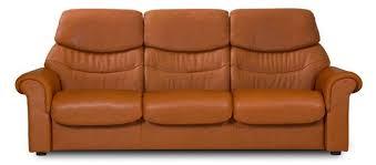 Orange Leather Sofa Recliner Sofas Stressless Leather Reclining Sofas