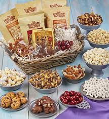 Popcorn Baskets Baskets Gift Baskets Full Of Delicious Snacks The Popcorn Factory