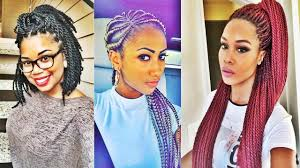 super black braided hairstyles for black women 2017 youtube