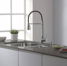 pull kitchen faucet reviews kitchen make your kitchen look modern using kraus faucets