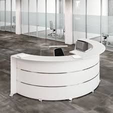 Reception Desk Hire Reception Glass L Office Reception Desk In Wood With Chromed
