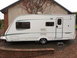 abbey gts vogue 416 caravan luxury 4 berth 2005 awning plus motor