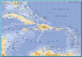 carribbean map caribbean map travel map vacations travelsfinders com