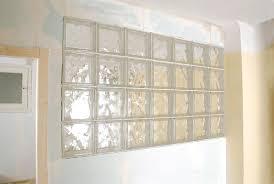 brique de verre cuisine montage brique de verre avec cuisine cloison en briques de verre top