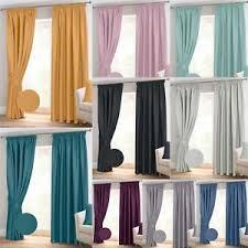 Chevron Style Curtains Herringbone Chevron Thermal Blackout Ready Made Curtains Pair