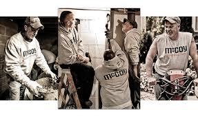 mccoy contractors experience