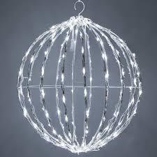 lighted spheres yard envy