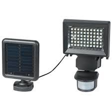 Defiant Solar Motion Security Light Triple Head Led Watt White Security Light Motion Activated W