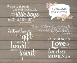 4 word overlays family child phrases photo overlay text