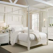 Nice Bedroom Bedroom White Voile Canopy Bed Drapes For Nice Bedroom Decoration
