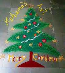 christmas rangoli design merry christmas special rangoli for