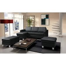 divan canapé canapé nora canapé d angle noir petit pouf grand pouf sofa divan