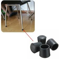 chair foot covers hot selling practical non slip skid proof rubber black table chair