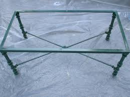 Round Glass And Metal Coffee Table Mid Century Bed Coffee Tables With Glass Top Metal Base Round
