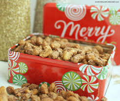 christmas nuts sugared mixed nuts a simple gift