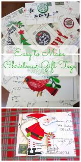 easy to make christmas gift tags 2 bees in a pod