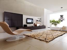 decoration special room plan with creative interior cute living room design ideas with unique lounge chairs plus brown fur rug and glass