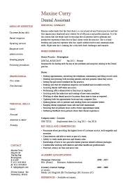 Examples Of Resumes Skills by Dental Assistant Resume Dentist Example Sample Job Description