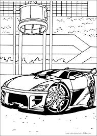 wheels color cartoon color pages printable cartoon