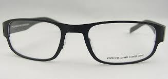 brillen porsche design porsche design p8109 c brille black mat black mat