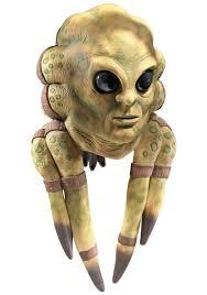Jar Jar Binks Halloween Costume Star Wars Jedi Kit Fisto Mask Kit Fisto Deluxe Latex Masks