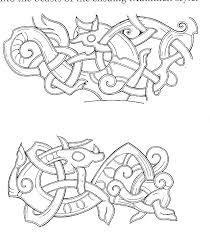 thyra the vikings viking the jellinge style celtic