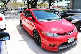 2007 honda civic si coupe kits autoland 2007 honda civic si ivtec kit rims drop 6spd