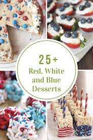 red white and blue desserts the idea room