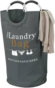 Medical Laundry Hamper by Laundry Hamper Bag Drop Your Pants Here With Aluminum Ring Handles