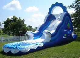 Water Slide Backyard Backyard Party Rentals With Water Slide Design U0026 Ideas