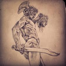 perseus with the head of medusa by skynichols on deviantart