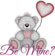 be mine teddy be mine awesome teddy heart graphic on