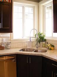 Kitchen Designs With Corner Sinks 22 Best Kitchens Corner Sinks Images On Pinterest Corner Kitchen