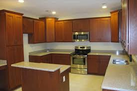 Shaker Doors For Kitchen Cabinets by Natural Cherry Shaker Kitchen Cabinets Best Home Decor