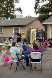 domestic fashionista halloween driveway party