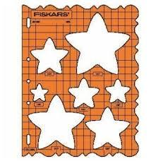 star shape template haberdashery online