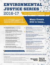 Gatech Campus Map Environmental Justice Series 2016 17 Serve Learn Sustain
