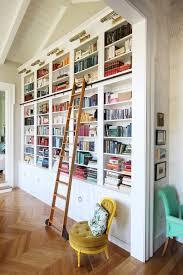 Sliding Bookshelf Ladder Sliding Ladder Bookshelves