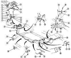 1967 68 firebird brake lines illustrated parts break down