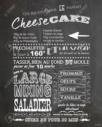ardoise cuisine cheesecake recette ardoise cuisine millésime banque d images et