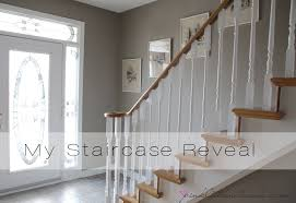 what of paint do you use on oak cabinets ordinary oak to simply white my staircase reveal pink