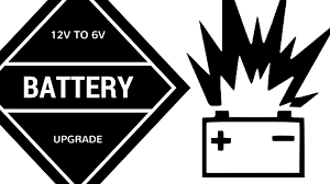 rv battery failure and upgrade two 12v to two 6volt batteries