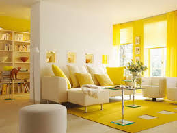 Modern Yellow Rug by White Shelves Livingroom Decorating Ideas For Small Space Yellow