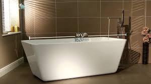 porto freestanding bath youtube